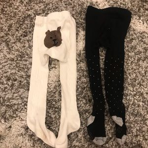 🔸3 for $25🔸2 Pairs or Gap Knit Tights 12-24m